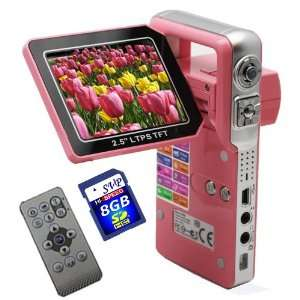 with a 2.5 TFT LCD Monitor (Free 8GB SDHC Card)