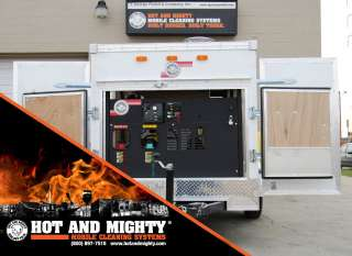 OR COLD WATER, PRESSURE WASHER, ENCLOSED TRAILER POWER WASHERS,