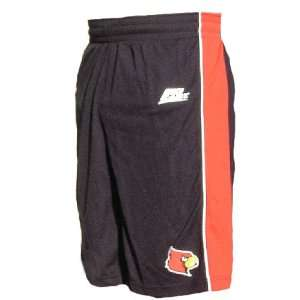 Adidas Louisville Cardinals Black 10? Inseam Replica Basketball Shorts