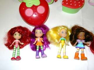 Strawberry Shortcake House, Remote Car, Carry Case, 11 Dolls & More