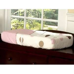 Modern Dots Pink Changing Pad Cover Baby