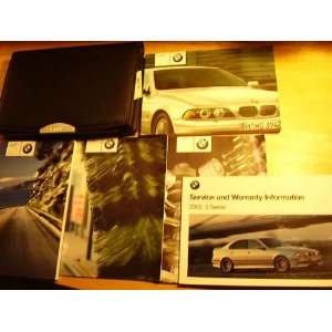 2003 BMW 5 Series Owners Manual BMW Books