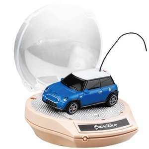 152 Scale Mini Cooper   Blue 27 MHz by Excalibur Sports
