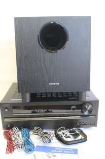 Onkyo HT S3400 5.1 Channel Home audio speaker subwoofer Theater System