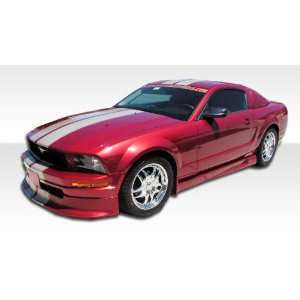 2005 2009 Ford Mustang V6 Duraflex Racer Kit  Includes Racer Front Lip