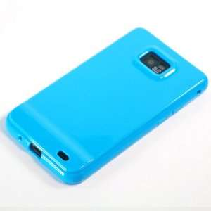com Blue TPU Case / Cover / Skin / Shell for Samsung Galaxy SII / S2