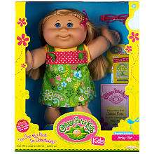 Cabbage Patch Kids Doll   Blonde Hair   Artsy   Jakks Pacific   Toys
