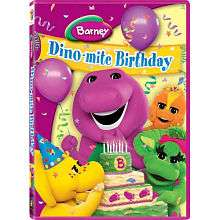 BARNEY DINO MITE BIRTHDAY DVD   Lyons Group