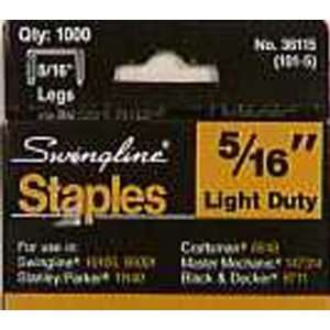 Powerfast Light Duty Staples Galvanized Steel
