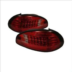 LED Euro / Altezza Tail Lights 97 03 Pontiac Grand Prix Automotive