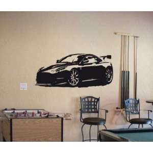 Wall MURAL Vinyl Sticker Car 2010 ASTON MARTIN DB9 005