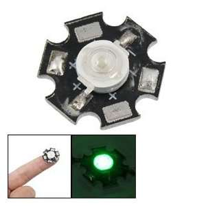 3W Green High Power Star LED Emitter Lamp Light 40 50LM Electronics