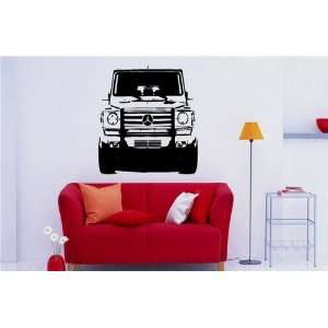 Wall MURAL Vinyl Sticker Car Mercedes Benz G ClasS 950