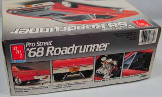 AMT ERTL PRO STREET 68 ROADRUNNER STREET MACHINE MUSCLE CAR HOT ROD