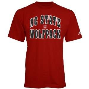 Adidas North Carolina State Wolfpack Red Rally T shirt