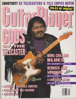Magazine (July 1993) Gods of the Telecaster / Albert Collins
