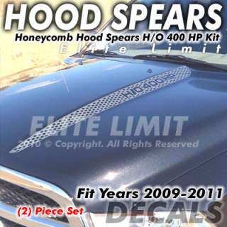 2011 Dodge Ram 1500 Truck Decal Decals Oem Hood Honeycomb Spear