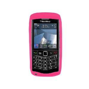 Silicone Case for Blackberry Pearl 9100   Pink Cell
