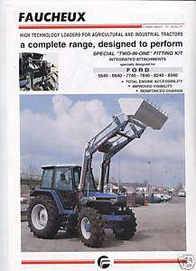 FAUCHEUX FRONT LOADERS FOR FORD TRACTORS SALES SHEET