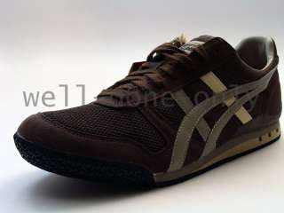 new Asics Onitsuka Tiger Ultimate 81 brown grey shoes