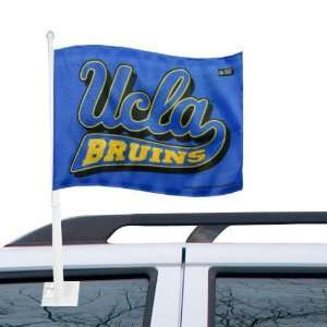 NCAA UCLA Bruins 11 x 15 Royal Blue Car Flag Sports