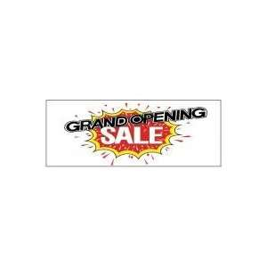 Opening Theme Business Advertising Banner   Grand Opening Sale