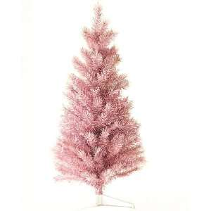 3 Pink & Silver Noble Pine Tinsel Artificial Christmas