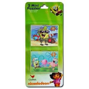 12 Piece Spongebob Squarepants Mini 50pc. Puzzles