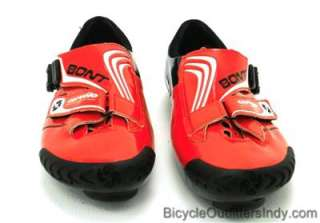 Bont Cervelo Test Team CTT 1 Road Cycling Shoes   Red/Black   NEW