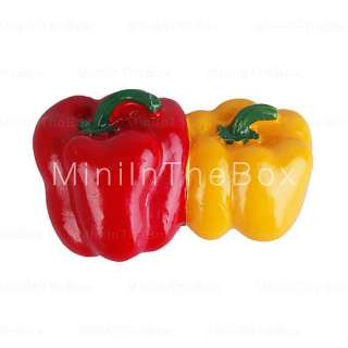 US$ 0.99   Cute Cartoon Style Fridge Magnets(Chillies),