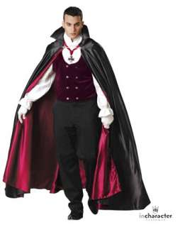 Gothic Vampire Elite Costume  Wholesale Vampire Halloween Costume for
