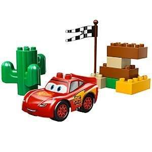 Drifting Lightning McQueen Cars Lego Duplo Play Set Toys & Games
