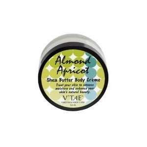 Almond Apricot Shea Butter Body Creme   6.5 oz   Cream