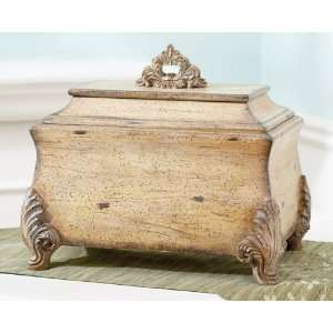 Pack of 2 Regal Vintage Style Decorative Wooden Boxes