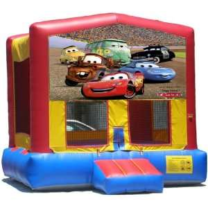 Cars Bounce House Inflatable Jumper Art Panel Theme Banner
