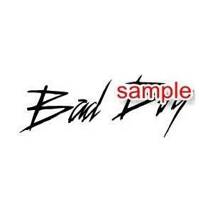 RANDOM BAD BOY 10 WHITE VINYL DECAL STICKER Everything