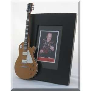 LES PAUL Miniature Guitar Photo Frame Gibson Musical Instruments