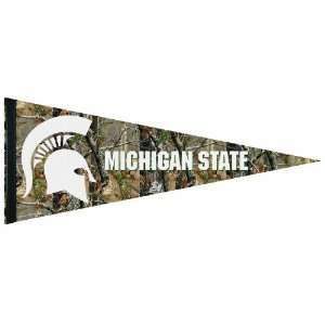 NCAA Michigan State Spartans Premium Quality Pennant 12 by 30 inch