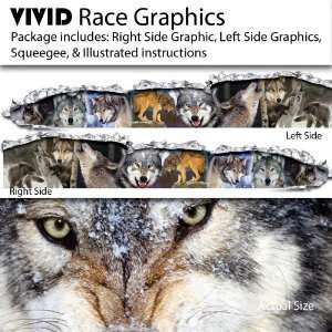 VIVID Wolf WOLVES Race Car Graphics/Decal