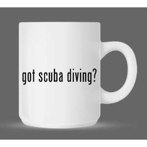 got scuba diving?   Funny Humor Ceramic 11oz Coffee Mug