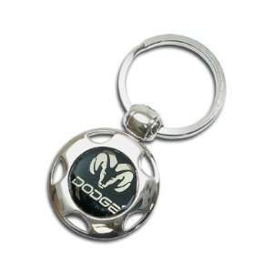 Dodge Ram Wheel Shape Key Chain Automotive
