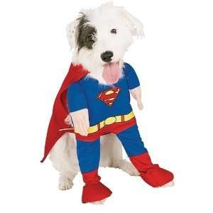 Superman Deluxe Dog Costume Size Small