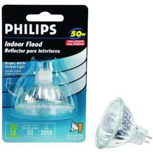 Landscape Lighting and Indoor Flood 50 Watt MR16 12 Volt Light Bulb