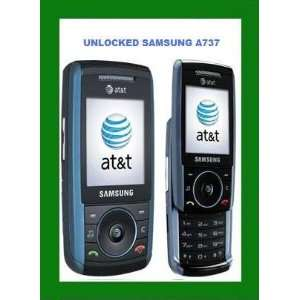 AT&T UNLOCKED GSM CELL PHONE CAMERA BLUE Cell Phones & Accessories