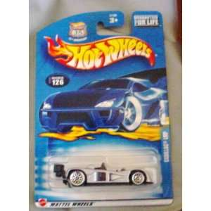 Hot Wheels 2003 Cadillac LMP #126 SILVER Race Car 164 Scale Toys