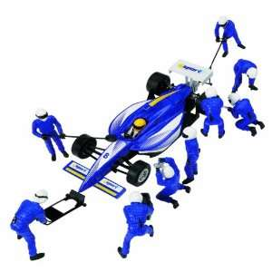 32 Slot Car Accessory, Pit Team A with Dallara Indy Car Toys & Games