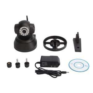 Wireless Wifi Two way Audio P/t Ip Camera + Angle Control