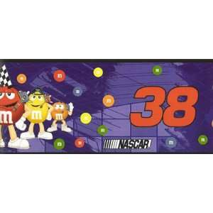 NASCAR #38 Elliott Sadler M&M Wall Border