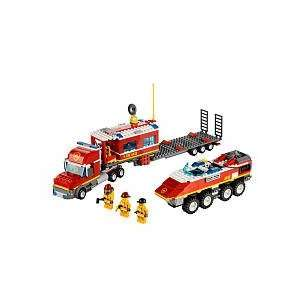 LEGO City Fire Transporter Toys & Games