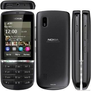 Nokia Asha 300 Unlocked GSM Symbian touch screen   International